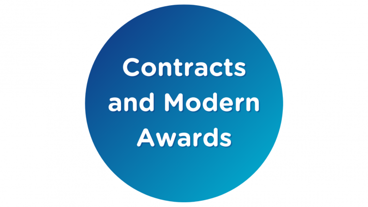 Contracts and Modern Awards Webinars