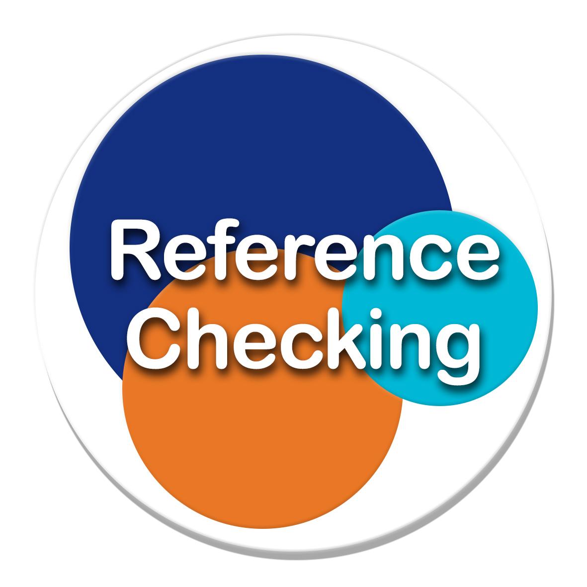 Raising awareness through best practice for better reference checks